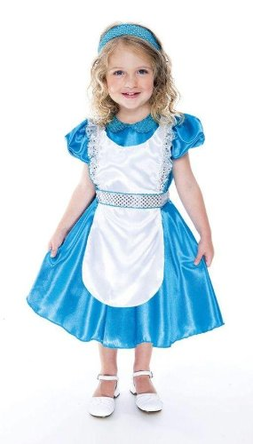 Alice Baby Costume (Enchanted Alice Toddler Costume - Toddler Small)