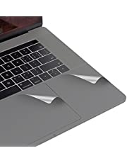 LENTION Palm Rest Cover for MacBook Pro (15-inch, 2016 2017 2018 2019) with Thunderbolt 3 Ports, Protective Vinyl Decal Skin Sticker with Trackpad Protector (Space Gray)