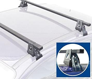 Vauxhall Corsa C 2000 2006 Roof Rack Bars These Are High Quality Fully Assembled Roof Bars Amazon Co Uk Car Motorbike