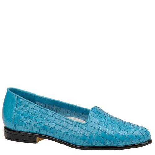 (Trotters Women's Liz Blue Veg Calf Leather 10.5 W )