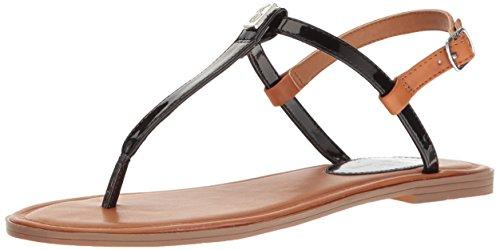 Gala Footwear - Polo Ralph Lauren Kids Girls' Gala Sandal, Black, 11 M US Toddler