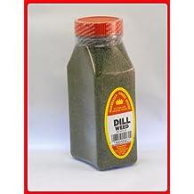 DILL WEED FRESHLY PACKED IN LARGE JARS, spices, herbs, seasonings
