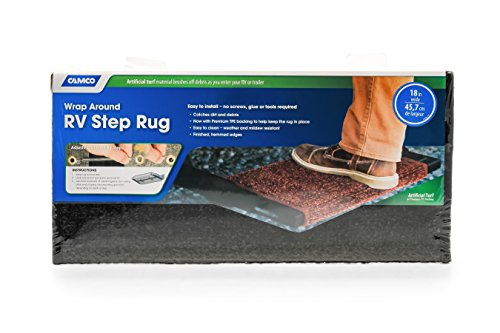Camco Mfg Inc Premium Wrap Around Rv Step Rug