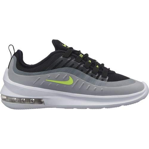 NIKE Men's Air Max Axis Running Shoe, Black/Volt-Wolf Grey-Anthracite, 7.5