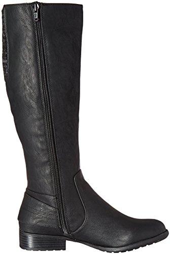 Boot UK High 11 Xandy Stride Women Life 9 US EU Black Knee 41 Wxg8HUwzqw