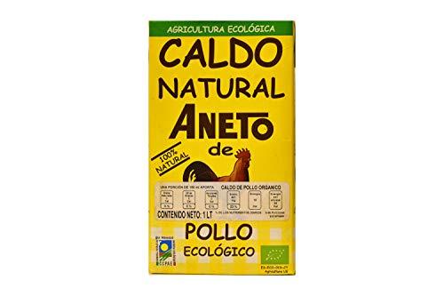 Aneto Caldo de Pollo Orgánico, 1000 ml