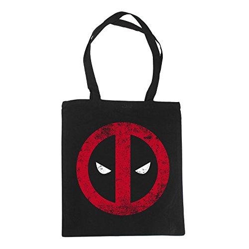 Deadpool bag logo Elbenwald iuta nero
