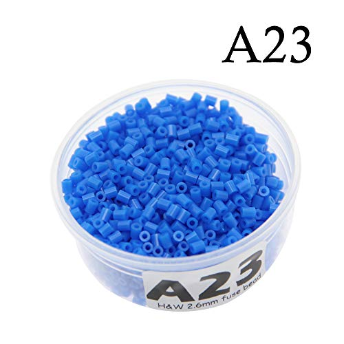 Canutillos Mini Beads 2.6mm (2000 Unidades) Azul