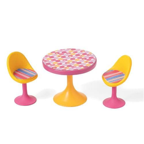 (Table for Two Groovy Girls Minis Accessories by Groovy Girl)