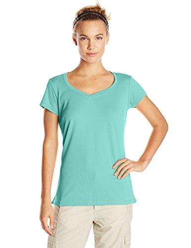 Columbia Sportswear Women's Innisfree Short Sleeve Shirt, Oceanic, Small