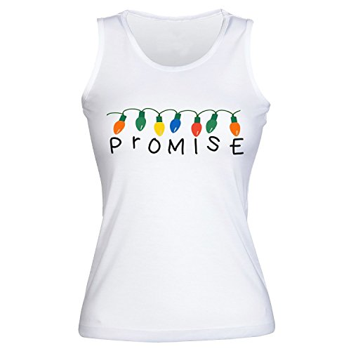 Cool Christmas Lights With Alphabet. Promise. Women's Pour des Femmes Tank Top Shirt