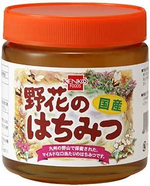 健康フーズの野花のはちみつ550g×3個          JAN: 4973044091180