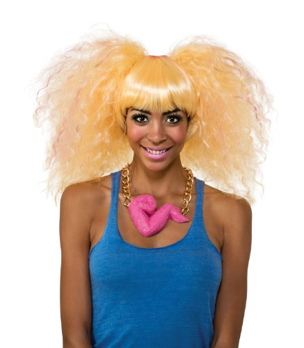 (Rubie's Costume Nicki Minaj Collection Harajuku Puff Wig, Blonde, One)