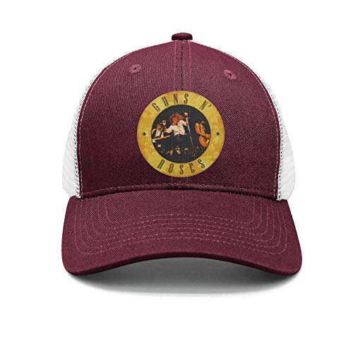 Gun-N -Roses Unisex Adjustable Baseball Hat vintage Mesh Polyester Cap 74f55f2c1d5