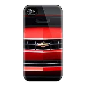 Fashion KLnKKxr-8653 Case Cover For Iphone 4/4s(2010 Chevrolet Camaro Rs 6)