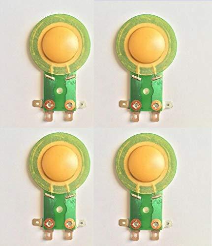 FidgetGear 4 Pcs Replacement Diaphragm for JBL/Selenium RPDT150 DT100 DT150 OEM 8ohms from FidgetGear