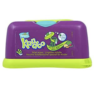 Pampers Kandoo Wipes Tub Melon 6 X 55 Wipes 330 Wipes