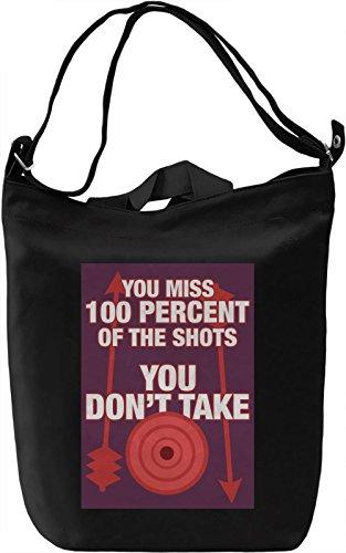 Untaken shots Borsa Giornaliera Canvas Canvas Day Bag| 100% Premium Cotton Canvas| DTG Printing|