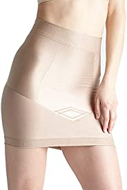 Yummie Womens Women's Seamless Firm Control Shapewear Skirt Slip Shapewear Half