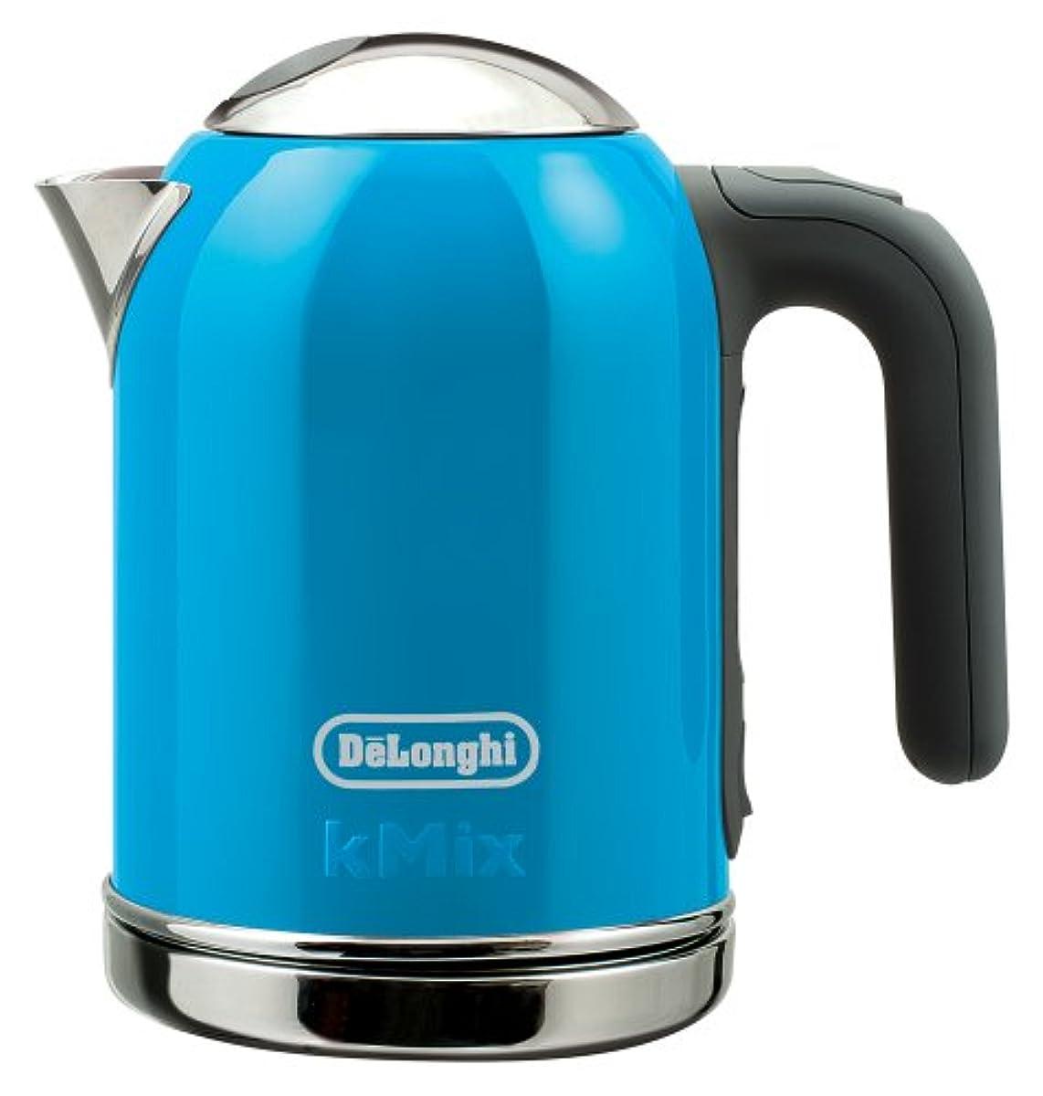 [해외] DELONGHI KMIX(K 믹스) 부티크 전기 주전자(케틀.kettle) 블루 0.75L SJM010J-BL