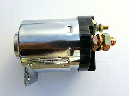 HARLEY STARTER SOLENOID CHROME 1965-88 4 SPEED 71469-65 A,B & 71469-69 USA MADE