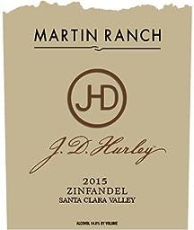 J.D. Hurley 2015 Zinfandel 750mL