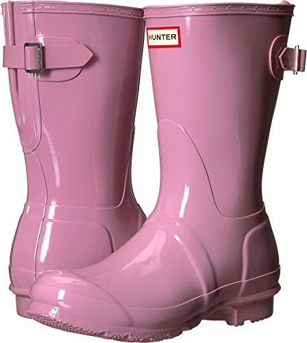 Rain Gloss Boots Blossom Short Back Womens Adjustable Hunter Original 1qzYwpp