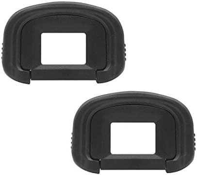 Generic [2 Pack] EG Rubber Eyecup Eyepiece Visor para Canon EOS ...