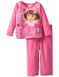 Nickelodeon Dora L/S 2-Pc Set - Pink-2T