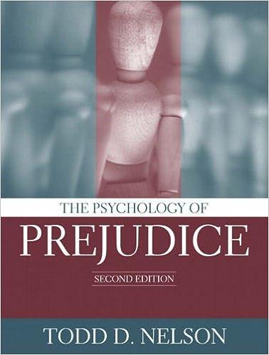 2nd Edition The Psychology of Prejudice