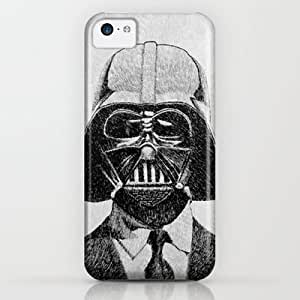 Darth Vader Portrait iPhone & iphone 5c Case by Nicolas Jolly