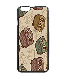 """Home Decor Design Cute Cartoon Owl Collection Stylish Photo Printed Hard Customized Case Cover , iPhone 6 Plus (5.5"""") Case Cover, Protection Quique Cover, Perfect fit, Show your own personalized phone Case for iPhone 6 Plus - 5.5 inches"""