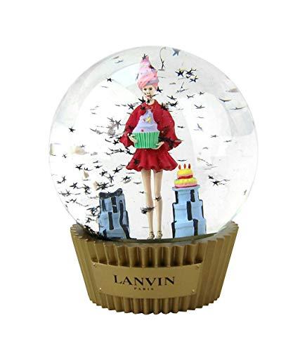 LANVIN Boule a Neige Snow Ball Paris Christmas ()