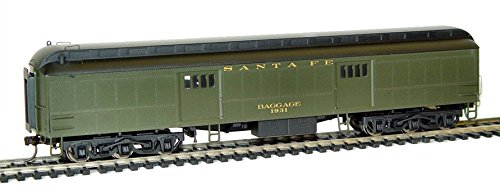 Rivarossi HO Scale Pullman 60' Baggage #1931 Santa Fe Train