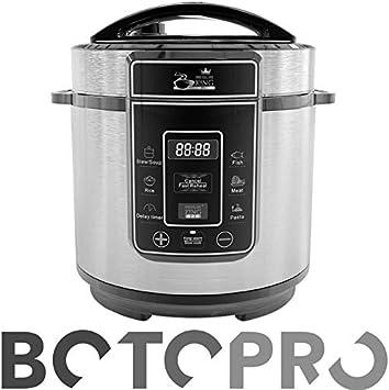 BOTOPRO - Pressure King Pro 3L, el Robot de Cocina 8 en 1. Incluye Gratis Cucharon y Recetario - Anunciado en TV: Amazon.es
