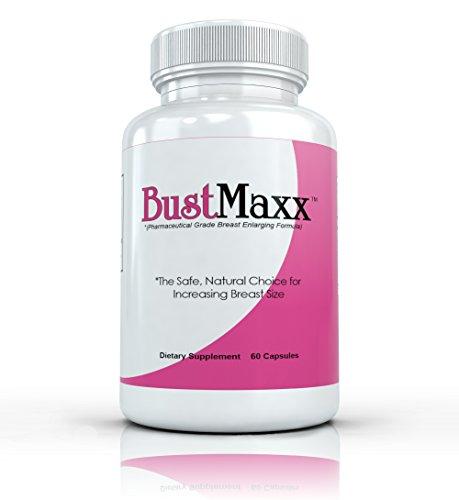 Meilleures pilules d'agrandissement du sein: BUSTMAXX All Natural Buste Supplément Agrandissement et amélioration - 60 capsules par bouteille
