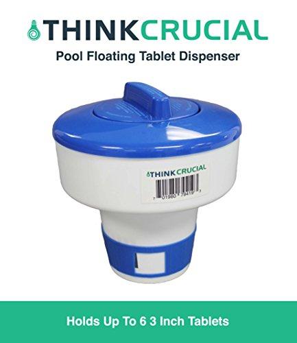 al Dispenser, Fits 6 3 inch Chemical Tablets (Floating Chemical Dispenser)