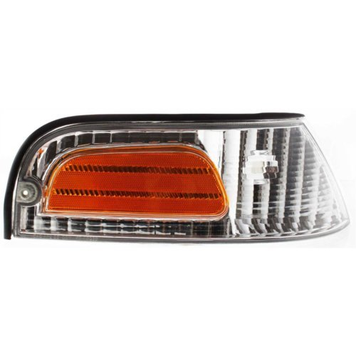 Evan-Fischer EVA20572013597 Corner Light For 98-2011 Ford Crown Victoria Passenger Side Incandescent