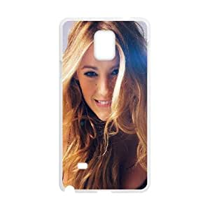 Samsung Galaxy Note 4 Cell Phone Case White hg01 blake lively sexy photoshoot model SUX_125570