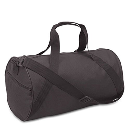 BARREL DUFFEL, Black, Case of 24 by DollarItemDirect