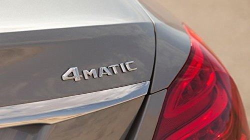 Matte Silver - 4MATIC - OEM Mercedes Benz Original Badge Decal Emblem Car Sticker *** USA SELLER ***