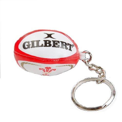 GILBERT Llavero de balón de wales rugby