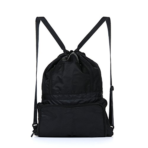 Chnano-Drawstring-Bag-Nylon-Foldable-Waterproof-Sackpack-Backpack-for-Men-Women
