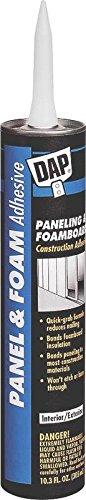 Dap 25403 10.3-Ounce Paneling and Foam Construction - Ounce Tube 10.3