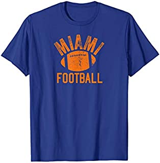 [Featured] Miami Football Vintage Cool Florida football Fan Wear in ALL styles   Size S - 5XL