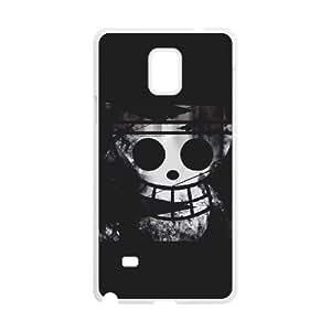 Stylish One Piece Design Samsung Galaxy Note 4 Cell Phone Case Funda blanco 92