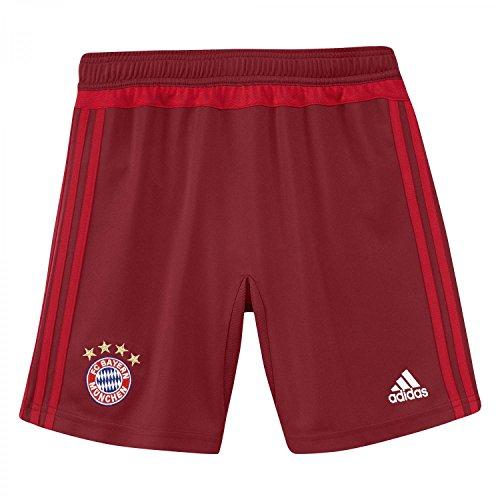 adidas Jungen Short FC Bayern Training With Brief, Craft Red F12/True Red, 140, AC3665
