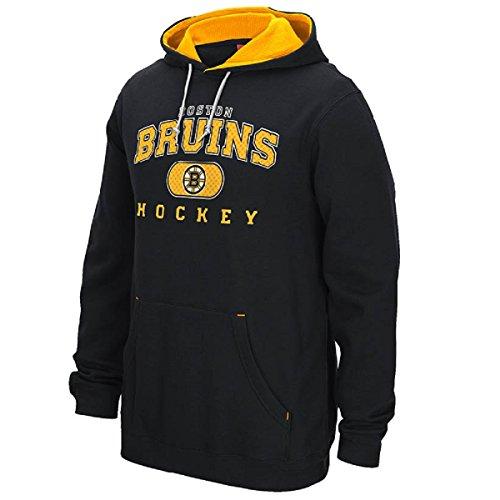 - Reebok NHL Boston Bruins Black 15 Playbook Hoodie Sweatshirt (Small)