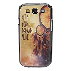 WEV sold out KEEP YOUR DREAMS ALIVE Pattern Hard Case for Samsung Galaxy S3 I9300