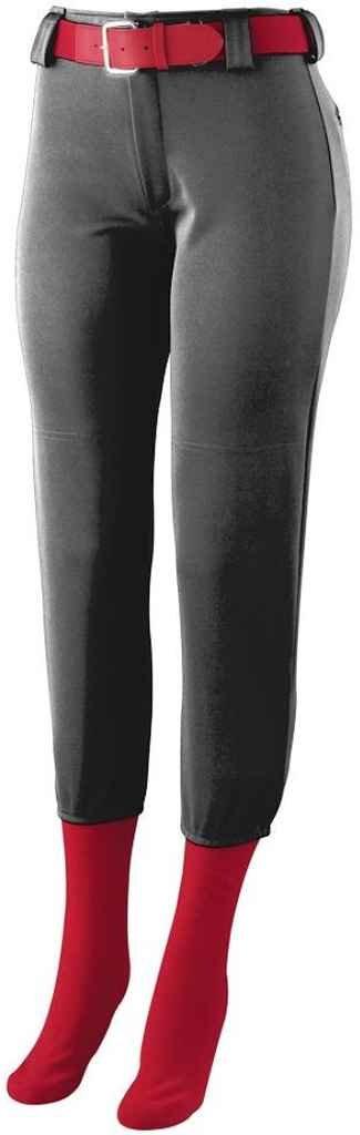 Augusta Sportswear Girls ' Homerun Low Riseソフトボールパンツ B00GK5PBQCブラック L